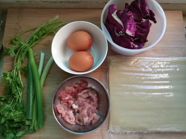 烤冷面的简单做法