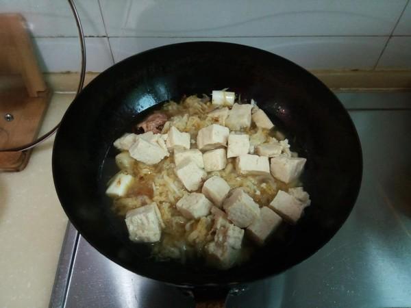 酸菜冻豆腐汤怎么做