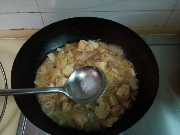 酸菜冻豆腐汤怎么煮