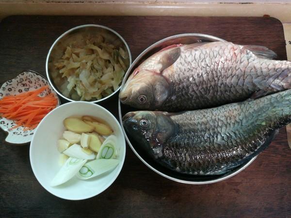 榨菜鲫鱼的做法大全