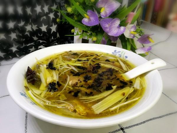 黄鱼紫菜汤怎样煸