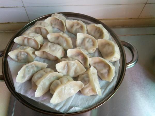 芹菜馅蒸饺的制作方法