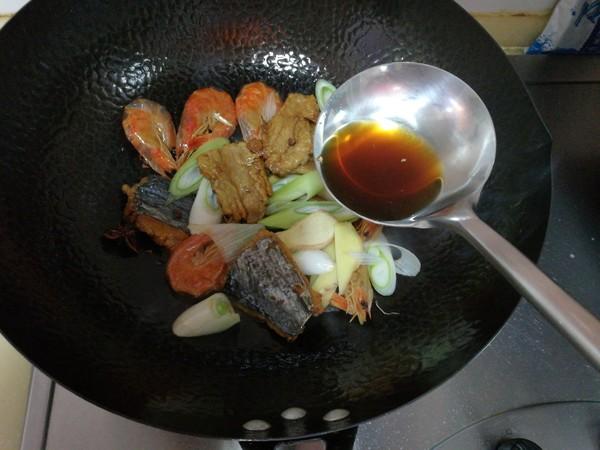 腐竹炖鱼干怎么吃