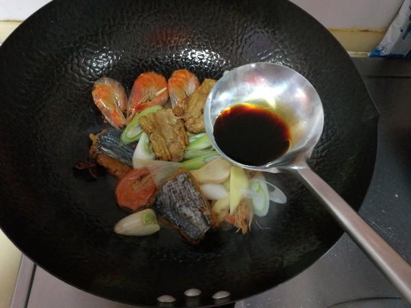 腐竹炖鱼干怎么做
