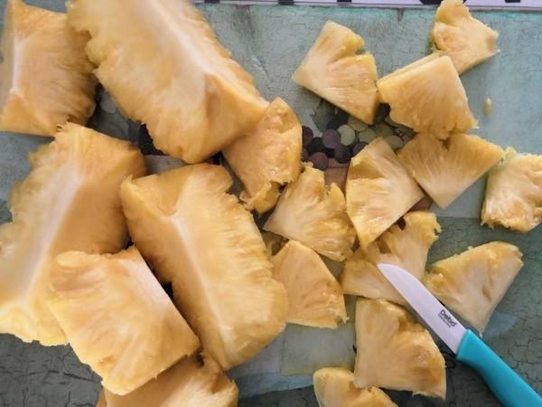 菠萝干的简单做法