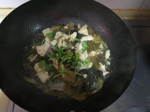 酸菜鱼片怎样煸