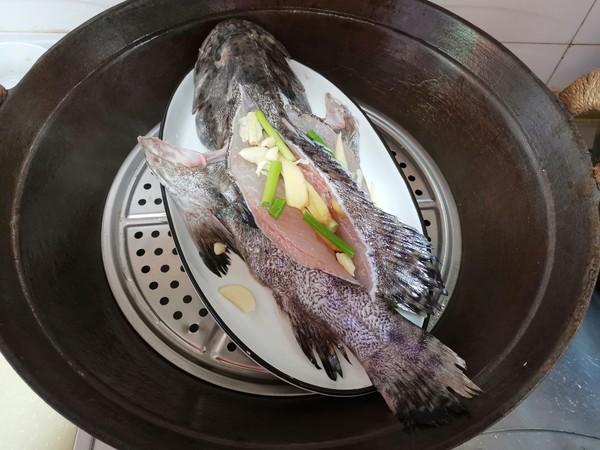 清蒸石斑鱼怎么炒