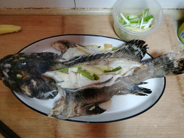 清蒸石斑鱼怎么煮