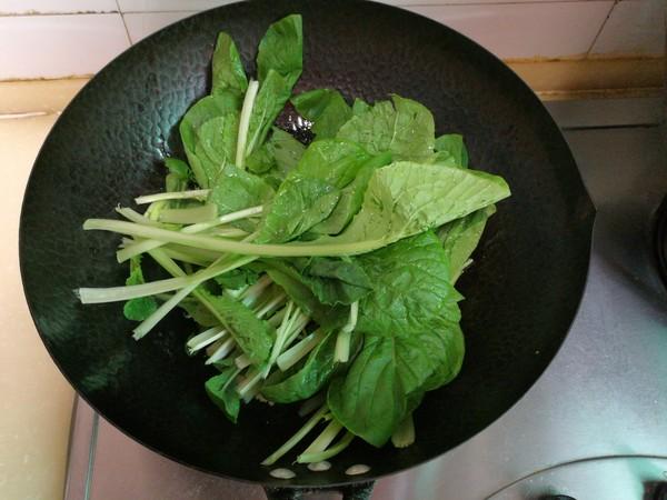 小白菜扒海米怎么做