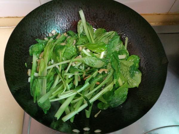 小白菜扒海米怎么炒