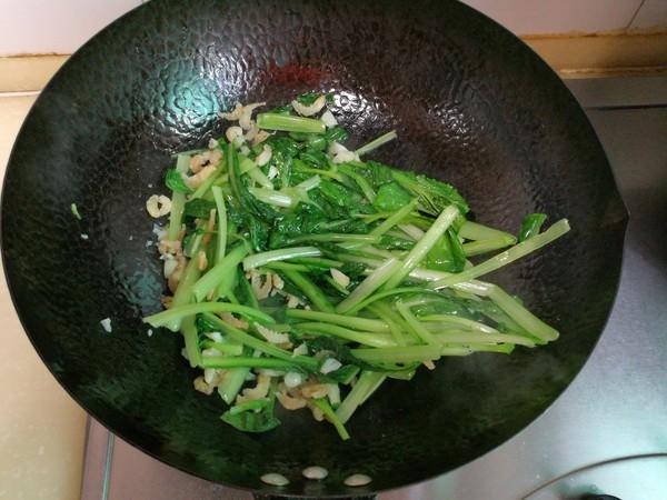 小白菜扒海米怎么煮