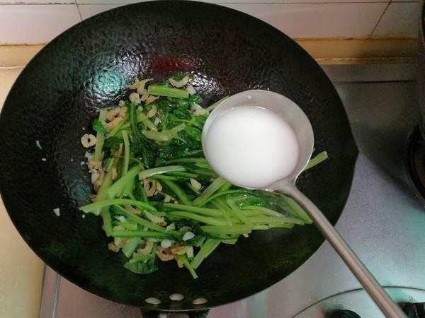 小白菜扒海米怎么炖