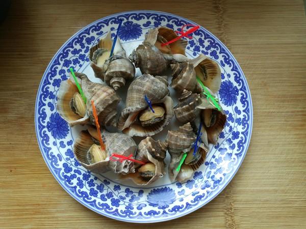 浇汁海螺的简单做法