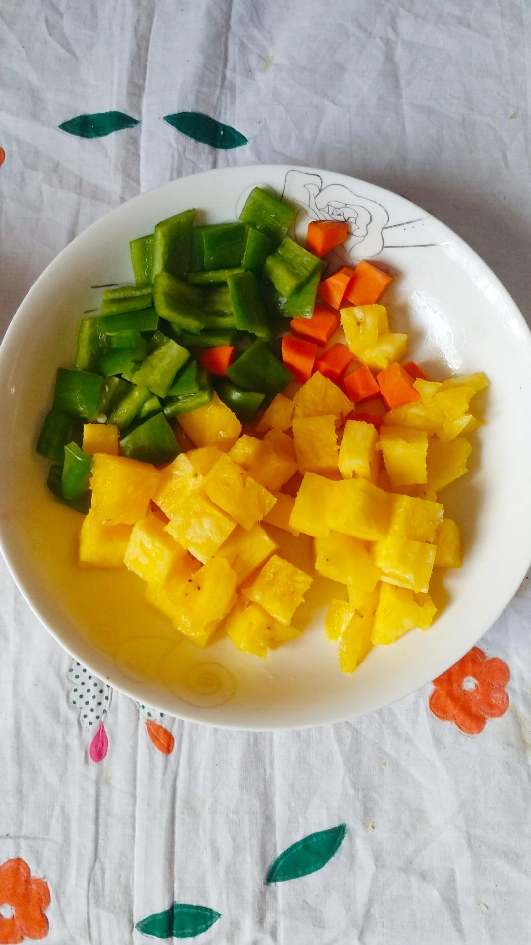 菠萝咕咾肉的做法图解