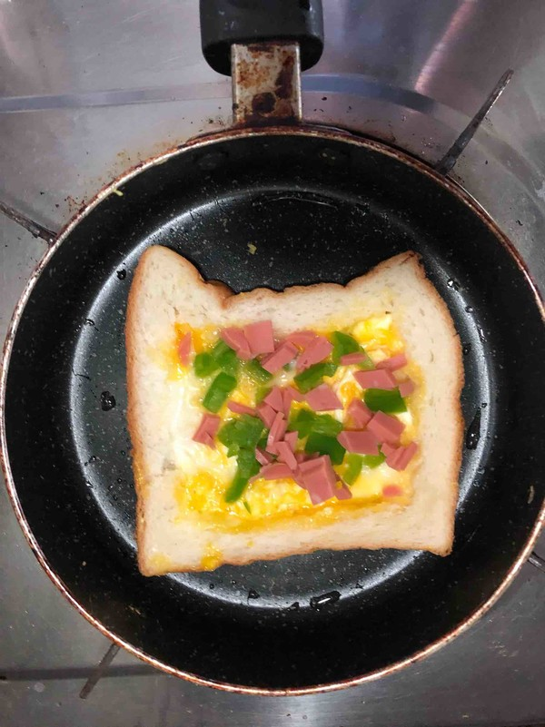 快捷营养早餐什锦面包片怎么做