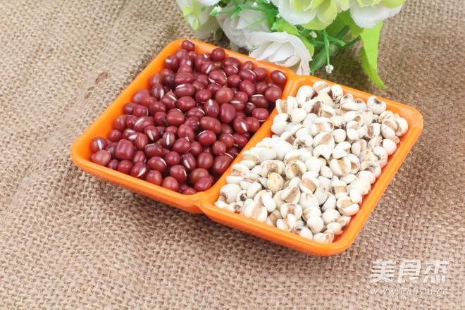 红豆薏米祛湿粥哦    适合多雨的季节的做法大全