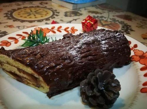 圣诞绝配——木材蛋糕,巧克力控最爱的制作方法