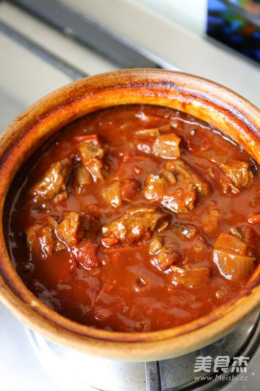 番茄牛腩煲怎样煸
