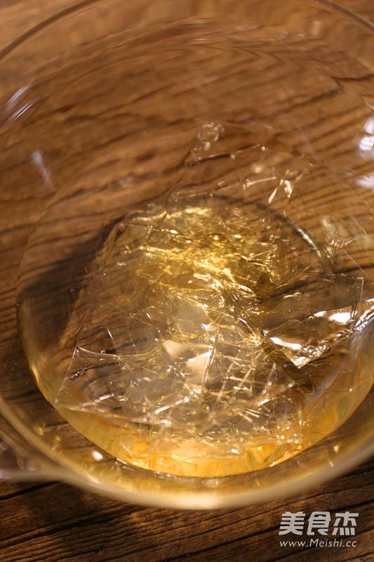 樱桃酒味果冻的步骤