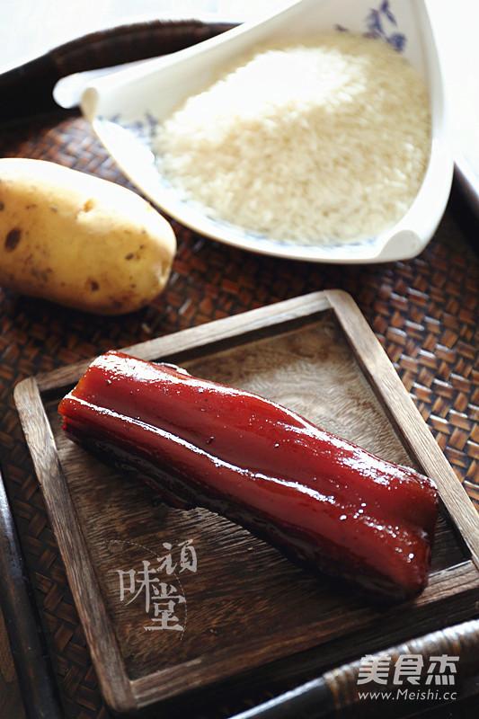 土豆腊肉焖饭的做法大全