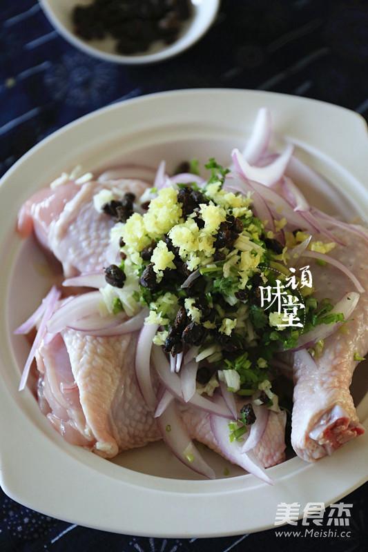 野山椒豆豉蒸鸡腿怎么吃