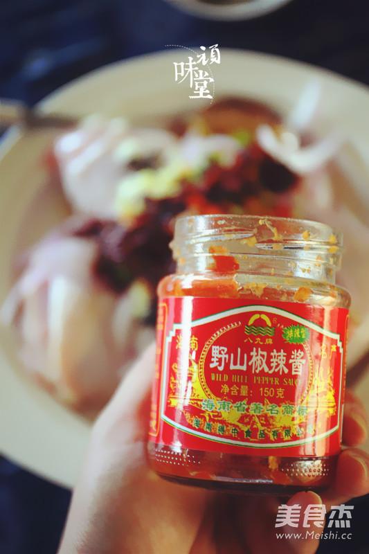 野山椒豆豉蒸鸡腿怎么做