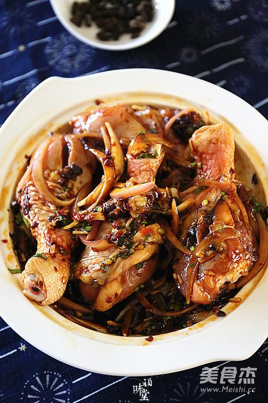 野山椒豆豉蒸鸡腿怎么炒