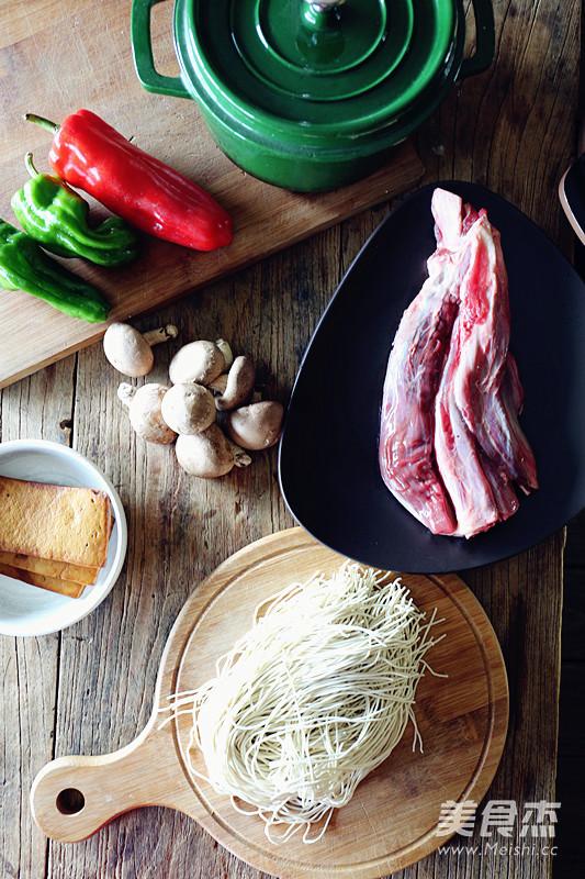 卤香牛肉风味酱拌面的做法大全