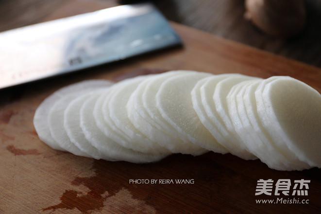 白萝卜猪肉卷的简单做法