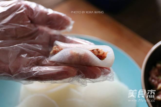 白萝卜猪肉卷怎么做