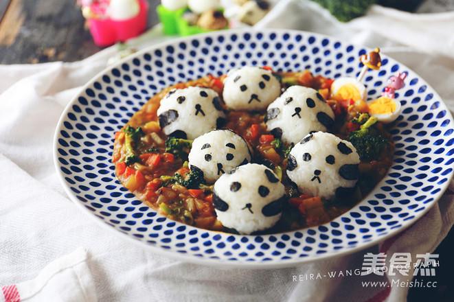 咖喱饭团之熊猫乐园怎样做