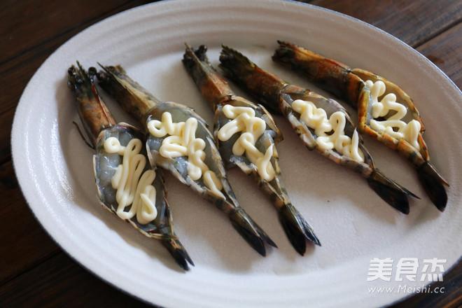 柠檬香烤芝士大虾的家常做法