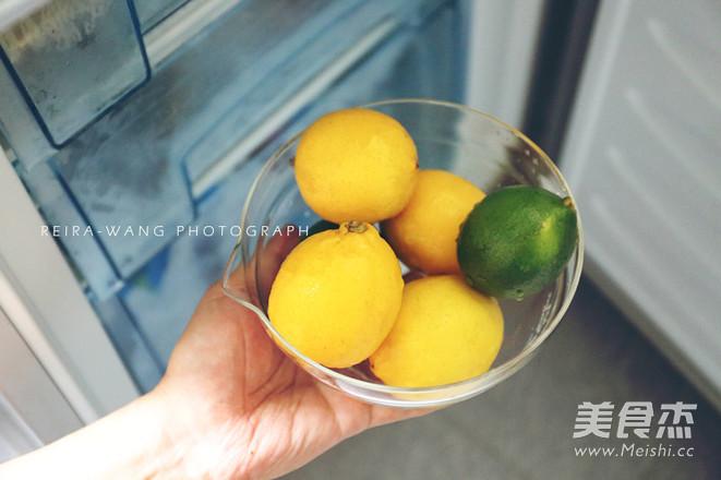柠檬水的正确冲泡方法的做法图解