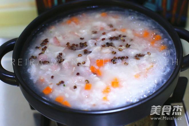 鸡肉培根蔬菜粥怎么吃