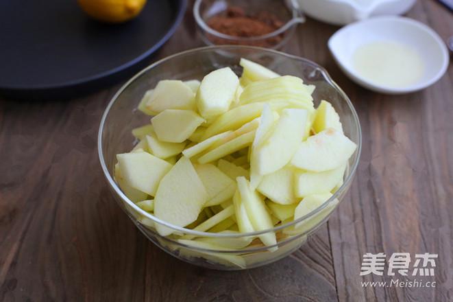 苹果派的简单做法