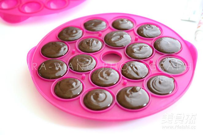 迷你巧克力蛋糕的家常做法