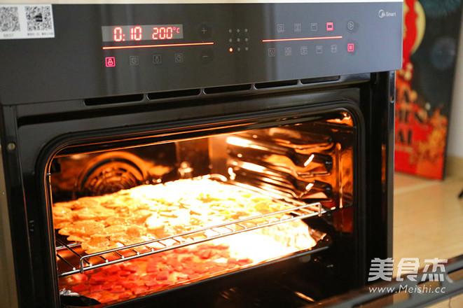 烤红薯配奶酪培根怎么做