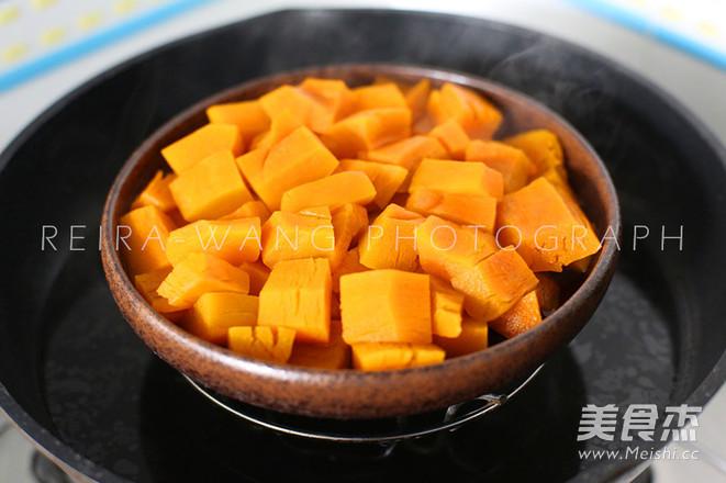 韩式南瓜粥的家常做法