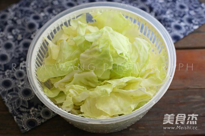 家常手撕包菜的做法图解