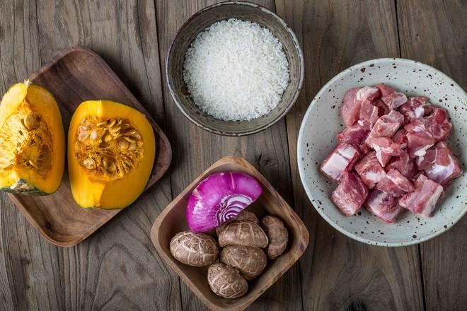 南瓜排骨焖饭的做法大全