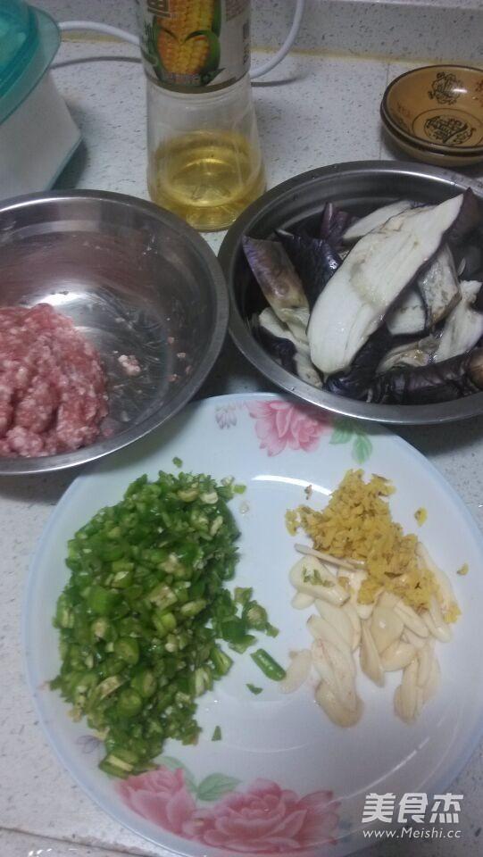 青椒肉沫茄子的家常做法