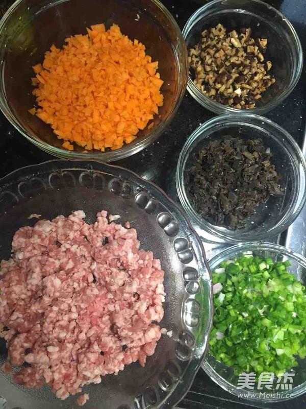 香菇红萝卜饺的家常做法