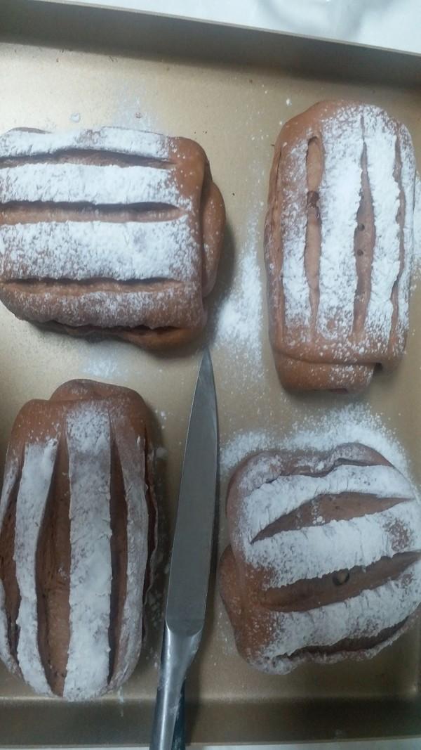 可可牛奶哈斯软面包的制作大全