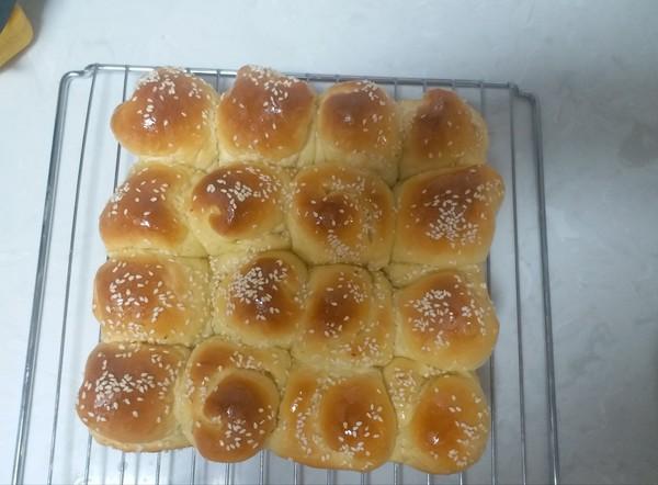 蜂蜜脆底小面包的制作方法