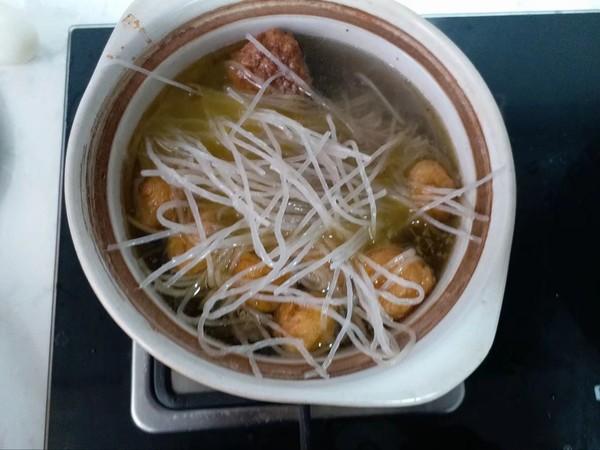 鹅煲粉丝汤怎么吃