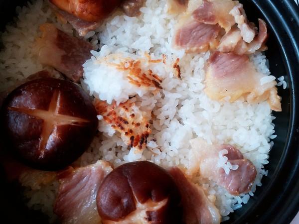 腊肉香菇煲仔饭怎么炖