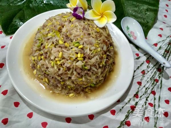 豆芽炒肉末的制作方法