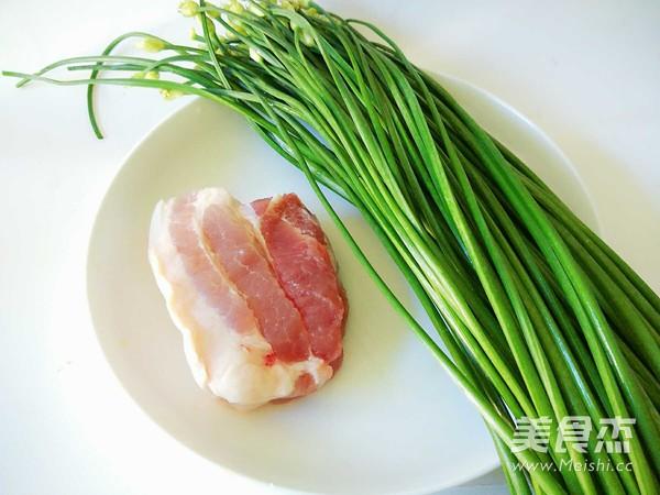 五花肉炒韭苔的做法大全