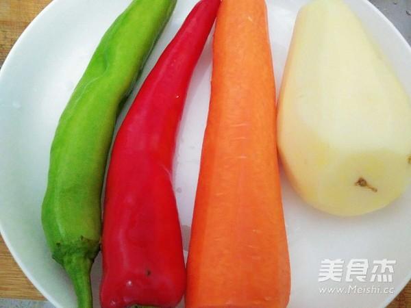 辣炒土豆胡萝卜块的做法大全