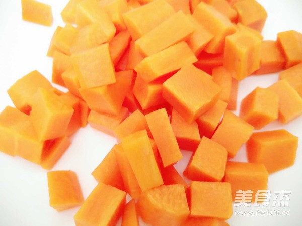 辣炒土豆胡萝卜块的做法图解